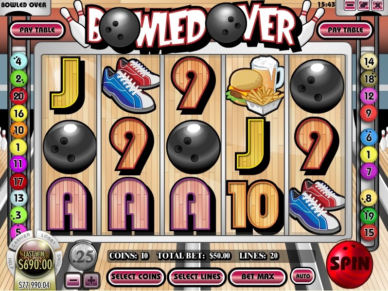 Bowled Over Slot Game
